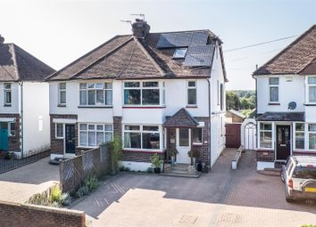 Thumbnail 4 bed semi-detached house for sale in Shipbourne Road, Tonbridge