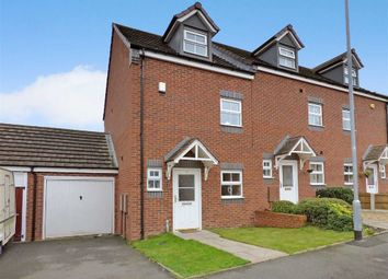 Thumbnail 3 bed town house to rent in Sparrowhawk Way, Cannock, Staffordshire