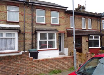 Thumbnail 3 bedroom terraced house to rent in Churchill Road, Northfleet, Gravesend