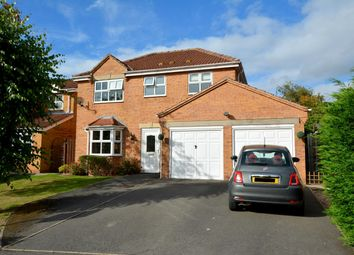 Thumbnail 4 bed detached house for sale in Burrs Wood Croft, Upper Newbold, Chesterfield