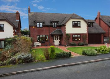 Thumbnail 5 bed detached house for sale in Alynfields, Fagl Lane, Hope, Wrexham
