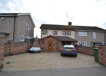 Thumbnail 3 bed semi-detached house for sale in Lea Road, Grays