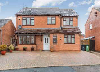 Thumbnail 4 bedroom detached house for sale in Drovers Way, Worcester