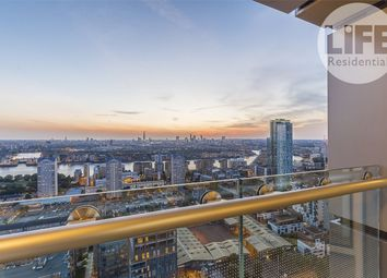 Thumbnail 2 bed flat for sale in Duckman Tower, 3 Lincoln Plaza, London