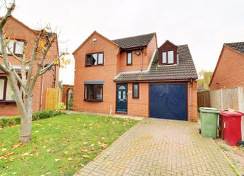 Thumbnail 4 bed detached house for sale in Massey Close, Epworth, Doncaster