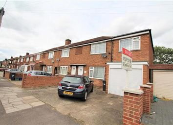 Thumbnail 4 bed end terrace house to rent in Cassiobury Avenue, Feltham
