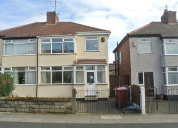 Thumbnail 3 bed semi-detached house for sale in Corwen Crescent, Liverpool