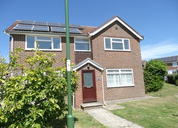Thumbnail 4 bed detached house to rent in Wells Crescent, Chichester