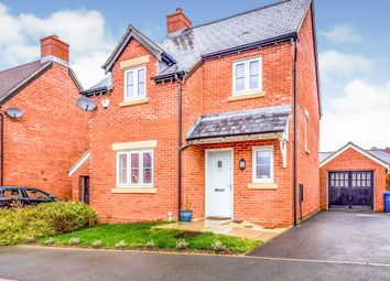 Thumbnail 3 bedroom detached house for sale in Sorrel Crescent, Wootton, Northampton