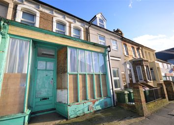 Thumbnail 3 bed terraced house for sale in Risborough Lane, Cheriton, Folkestone