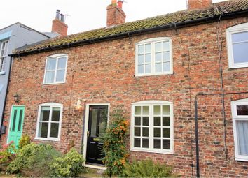 Thumbnail 2 bed terraced house for sale in Water Row, Selby