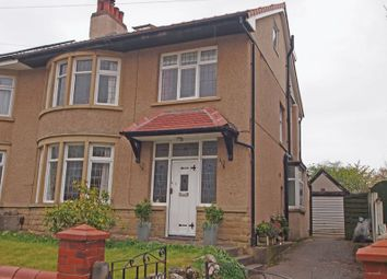 Thumbnail 5 bed semi-detached house for sale in St. Margarets Road, Bare, Morecambe