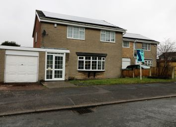 Thumbnail 4 bed detached house for sale in Wensleydale Close, Forest Town, Mansfield