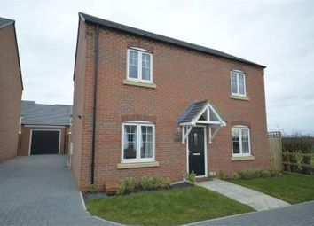 Thumbnail 3 bed detached house for sale in Kelmarsh Avenue, Raunds, Northamptonshire