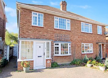 Thumbnail 3 bed semi-detached house for sale in Ridgeway Crescent, South Orpington, Kent