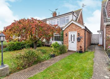 Thumbnail 3 bed semi-detached house for sale in Courtfield Avenue, Lordswood, Chatham