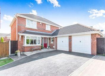 Thumbnail 4 bed detached house for sale in Croyde Close, Hindley Green, Wigan, Greater Manchester