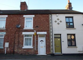 Thumbnail 3 bed terraced house to rent in Chapel Street, Castle Gresley, Swadlincote