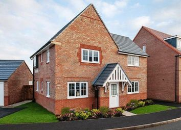 Thumbnail 4 bedroom detached house for sale in Tiber Road, North Hykeham, Lincoln