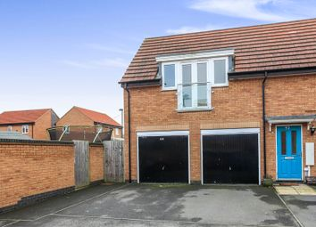Thumbnail 2 bed property for sale in Brooker Avenue, Gunthorpe, Peterborough