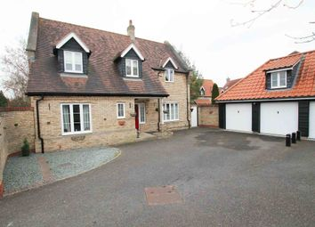 Thumbnail 4 bed detached house for sale in Swaffham Road, Burwell
