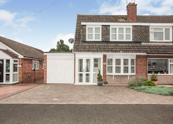 Thumbnail 3 bed semi-detached house for sale in Sharratt Road, Bedworth, Warwickshire