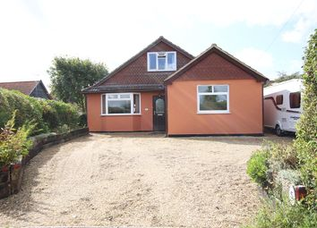 Thumbnail 4 bedroom detached bungalow for sale in Burstall Lane, Sproughton, Ipswich, Suffolk