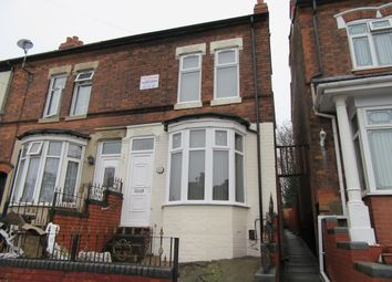 Thumbnail 3 bedroom terraced house to rent in Warren Road, Alum Rock, Birmingham, West Midlands