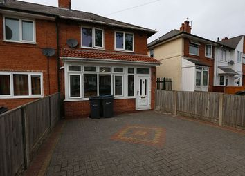 Thumbnail 3 bed semi-detached house for sale in Yarnfield Road, Birmingham, West Midlands