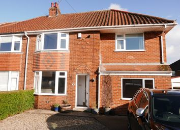 Thumbnail 4 bed semi-detached house to rent in Moor Lea Avenue, York