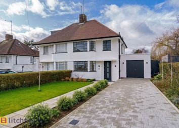 3 bed semi-detached house for sale in Hutchings Walk, Hampstead Garden Suburb NW11