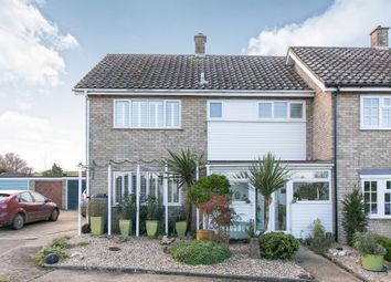 Thumbnail 3 bedroom end terrace house for sale in Watering Close, Lower Somersham, Ipswich