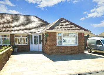 Thumbnail 2 bed semi-detached bungalow for sale in Wickham Avenue, Ramsgate, Kent