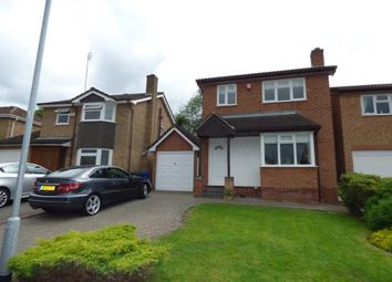 Thumbnail 3 bed detached house for sale in Cricketers Close, Burton-On-Trent, Staffordshire