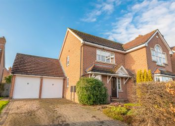 Thumbnail 4 bed detached house for sale in Back Lane, Copmanthorpe, York