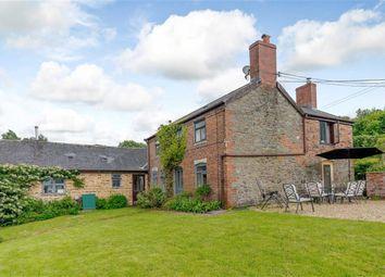 Thumbnail 6 bed farmhouse for sale in Coed Y Gaer Fawr, Llandinam, Powys