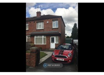 Thumbnail 3 bedroom semi-detached house to rent in Thirlmere Drive, Wakefield