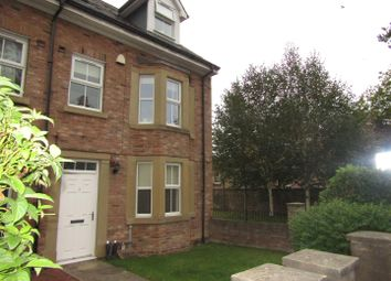 Thumbnail 4 bed town house to rent in Palace Road, Ripon