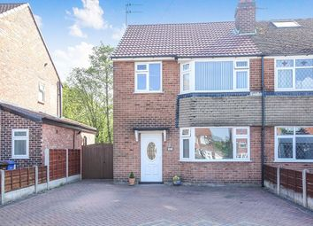 Thumbnail 3 bed semi-detached house for sale in Curzon Green, Stockport