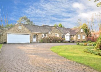 Thumbnail 4 bed bungalow for sale in Three Gables, Manor House Lane, Alwoodley, Leeds