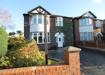 Thumbnail 3 bed detached house for sale in Cranford Road, Flixton, Manchester