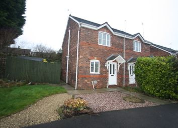 Thumbnail 2 bed semi-detached house to rent in 20 Brocklebank Drive, Northwich, Cheshire