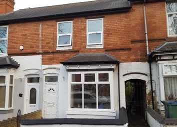 Thumbnail 3 bed terraced house to rent in Cemetery Road, Smethwick