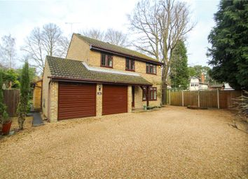 Thumbnail 4 bedroom detached house for sale in Ferniehurst, Camberley, Surrey