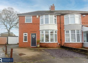 Thumbnail 3 bed semi-detached house for sale in Cromwell Road, Penwortham, Preston