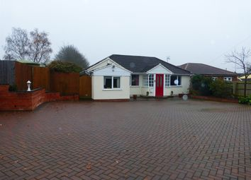 Thumbnail 2 bedroom detached bungalow for sale in Birmingham Road, Mappleborough Green, Studley