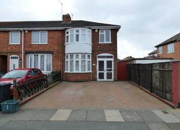Thumbnail 3 bedroom end terrace house for sale in Finsbury Road, Belgrave, Leicester, Leicestershire