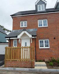 Thumbnail 3 bed detached house to rent in Charter Road, Axminster, Devon