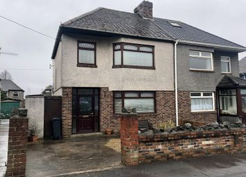 Thumbnail 3 bedroom semi-detached house for sale in Bertha Road, Port Talbot, Neath Port Talbot.