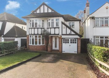 Thumbnail 4 bed detached house for sale in The Ridgeway, Watford